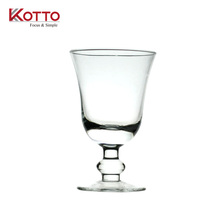 7.8oz clear Wine Glass Goblet Red or White Wine/kotto glass cup