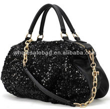 Fashion Europe Bling Leather HandBag HAND SHOULDER TOTE BAG