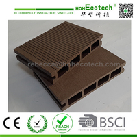 wpc waterproof decking flooring/decking/wpc/wood plastic composite