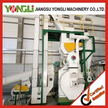 top quality complete 5 tons per hour wood pellet line YONGLI BRAND hot selling in Europe