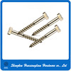 High Precise Metal Steel Plated Zinc Hex Cap Self Tapping Screw From China Supplier