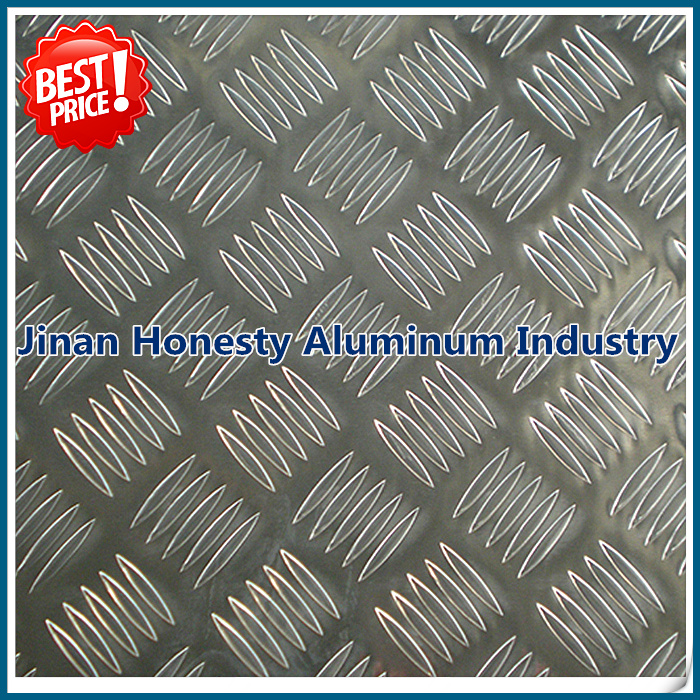 aluminum checker/diamond plate price 1050 1060 1100 3003 5052