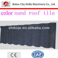 SB960 metal roofing tile coated sand production line