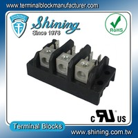TGP-050-03A 50A 3 Pole LED Power Distribution Terminal Connector