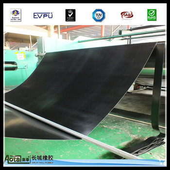 Great Wall high quality 8Mpa 4mm thick Viton rubber sheet