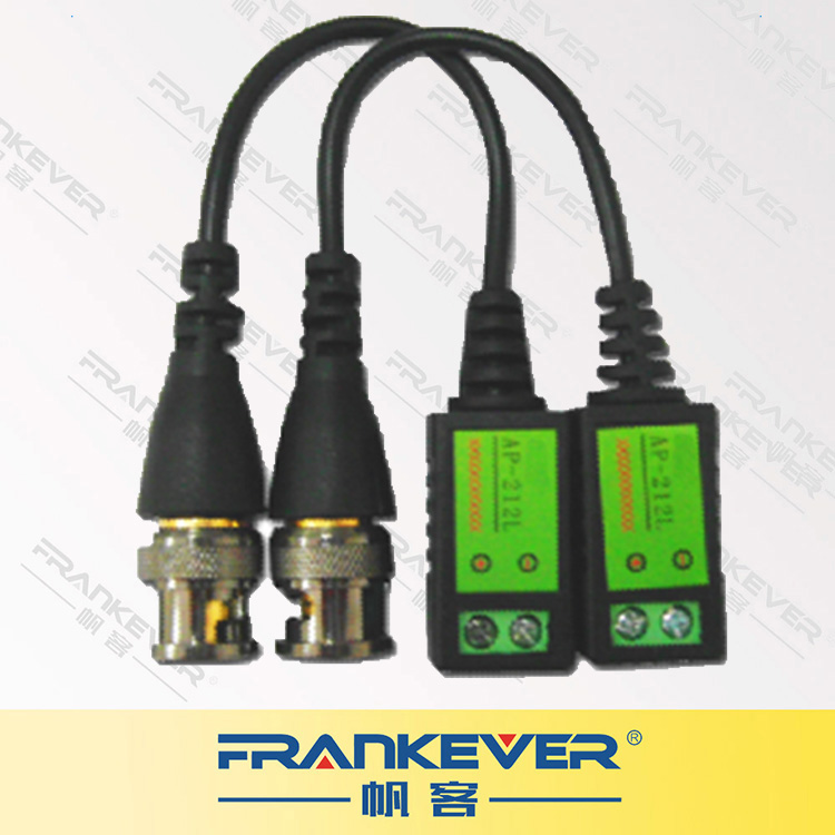FRANKEVER CCTV Accessories Single Channel Passive Transmitter Video Balun
