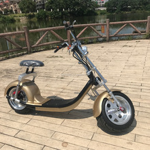 Latest Arrival 2018 Fat Tire E-Scooter 50km Woqu Scrooser Citycoco Style Electric motorcycle