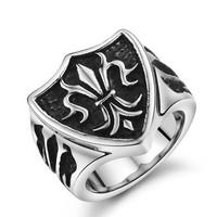 316L Stainless Steel Ring HIGH Quality Ring Men's Jewelry Wholesale 2015