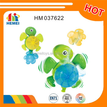 Funny baby bath toy animals sea turtle for baby
