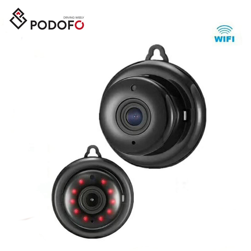 Podofo <strong>WIFI</strong> 960P Mini Smart IP Camera Night Vision High-performance Low-power Outdoor Security Camera