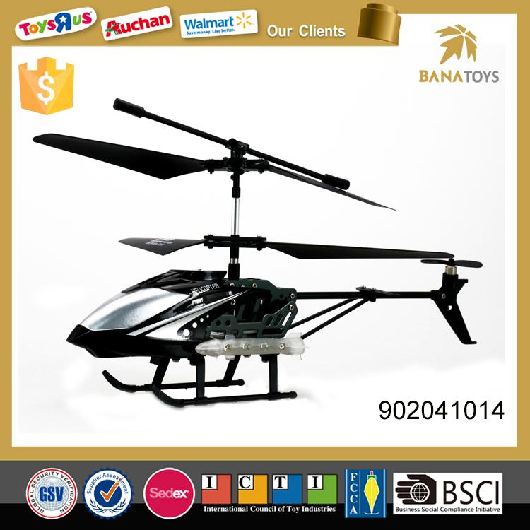 Battery operated 3 channel alloy structure propel rc helicopter