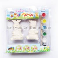 3ml 6-strips ceramic paint with two ceramic molds,non-toxicdiy toys for kids,promotional gifts