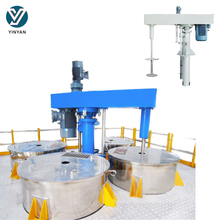 2 to 4 tanks hydraulic lifting paint high speed disperser