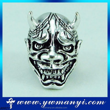 Hot Selling buy wholesale direct evil eye jewelry skull lip ring jewelry R27