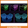 Customized LED Flashing el wire Sunglassess
