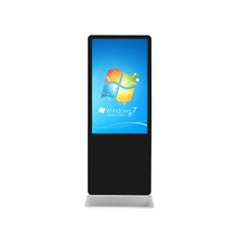 55 inch LCD advertising kiosk standing digital signage totem display