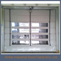 Modern Industry Automatic PVC High Speed Rolling Screen Door HSD-048