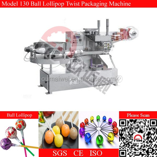 Lollipop Packing Machine Pillow Packaging Machinery