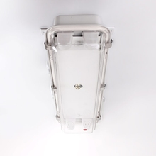 water proof 2*20w marine fluorescent lights fixture with plastic cover and metal guard JCY24-2E