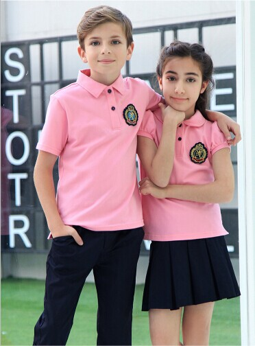 full cotton t- shirt kids kindergarten school band uniform