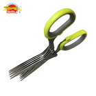 5 blades Stainless Steel kitchen scissors vegetable Scallion scissors