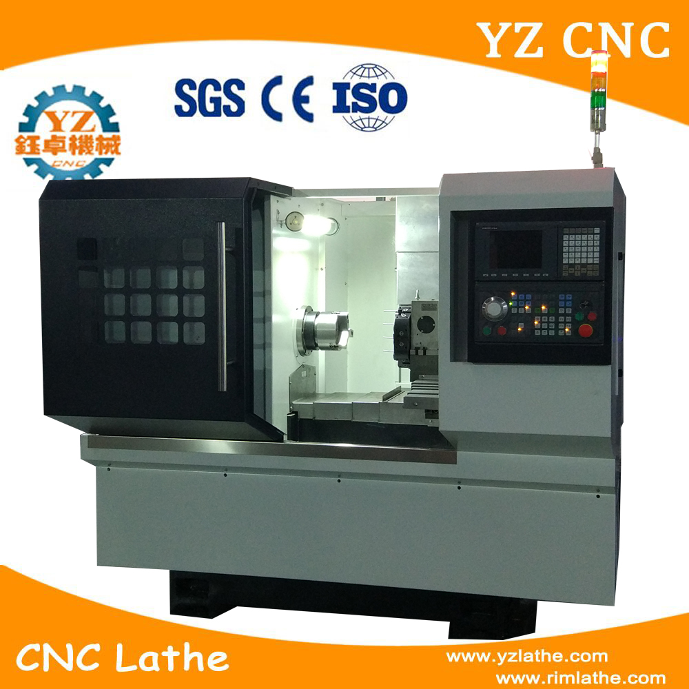 CNC milling lathe combo machine TCK32 with live tool