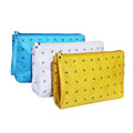 Promotion gift cheap lady cosmetic bag customized logo makeup bag
