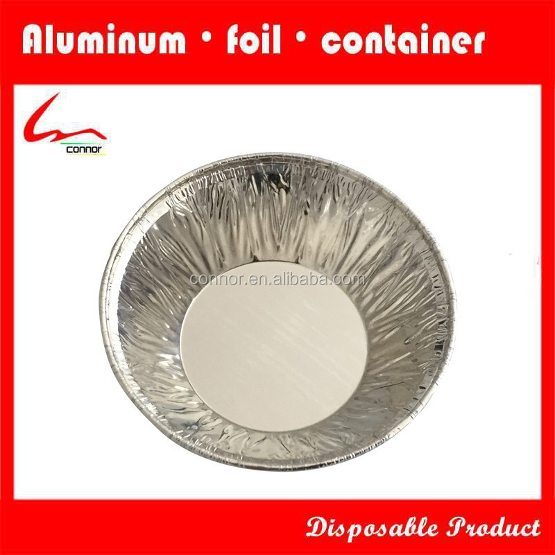 Disposable Aluminum Foil Egg Tart Cup for Ready Bakery