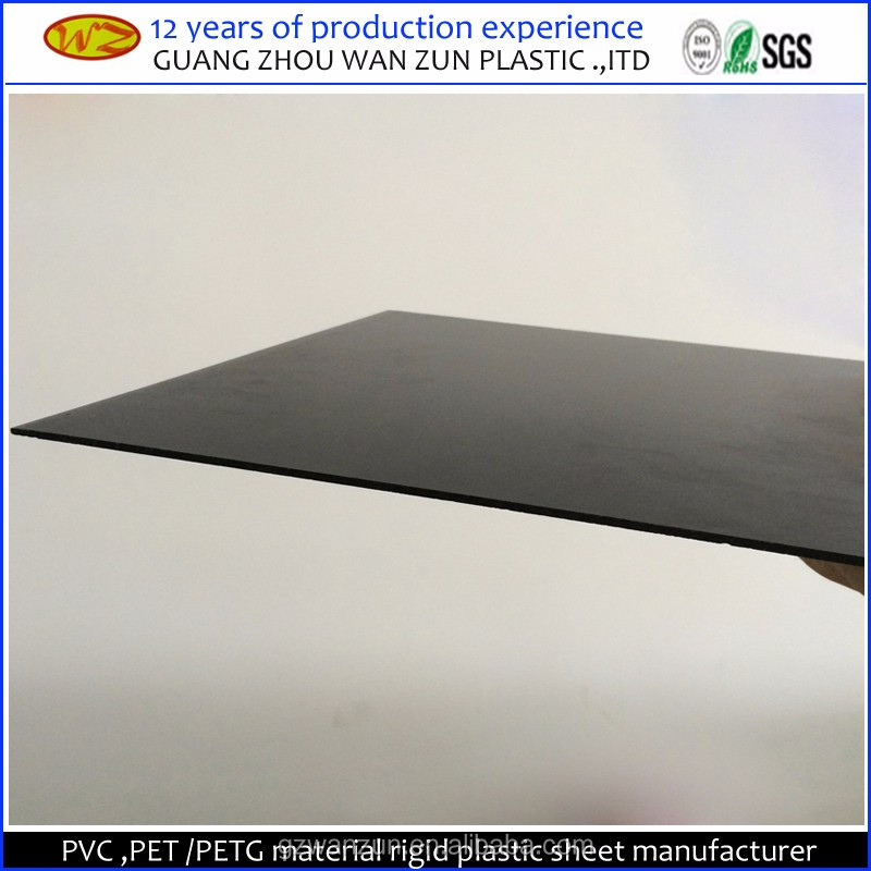 clear hard pvc sheets flexible black plastic pvc plastic sheet