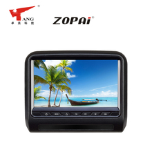 New arrival 9 inch car roof mounted flip down dvd player with usb port sd card slot