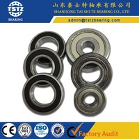 Non-standard deep groove special ball bearing single pipe bearing