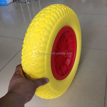 16inch 4.80/4.00/-8 pu foam tire for wheelbarrow