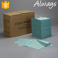[ALWAYS] High quality folded spunlace nonwoven Woodpulp/Cellulose Laminated Fabric