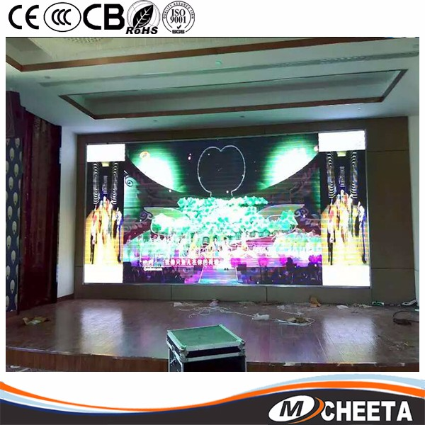 P3.9 Indoor Led Video Wall for Video and Audio Conferencing