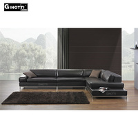 New design modern leather sectional sofa