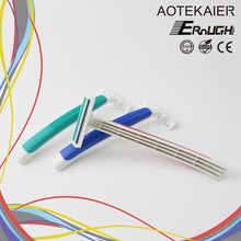 Double Color Beauty Tool No Electric Manual shaving razor blade disposable