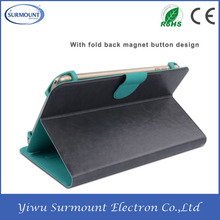 For Samsung Tablet Leather Case with clip Belt Clip Stand Leather Case for Tablet PC