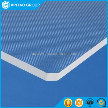 Xintao Extruded Acrylic panel for swimming pool