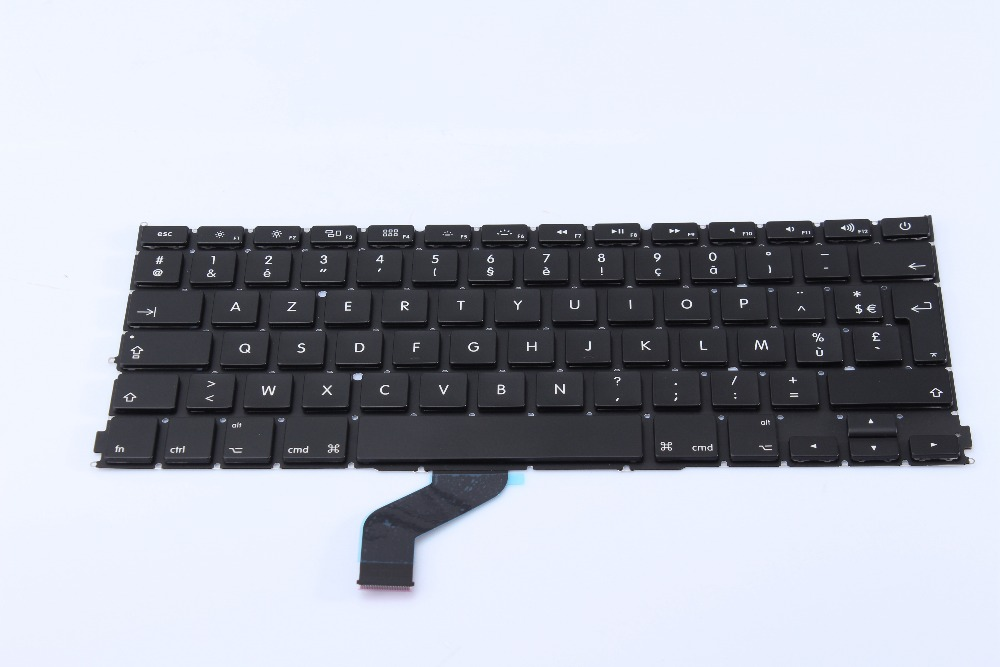 "Laptop Keyboard For Macbook Pro 13.3"" Retina A1425 French Keyboard Azerty 2012"