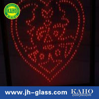 plastic flashing light up led glasses glass