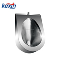 Wall-Hung Urinal in Stainless Steel