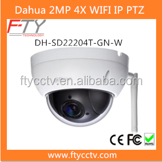 Dahua DH-SD22204T-GN-W Wireless Mini Dome 1080P IP PTZ Camera With Warranty