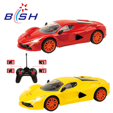 New design light 1:16 scale luxurious remote control car for kids