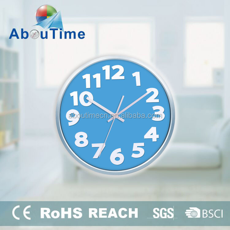 round wall clock/wall clock parts/islamic prayer digital wall clock