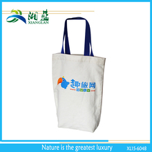 eco friendly plain cotton tote bag with customized logo printing