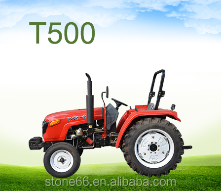 50hp 2wd/4wd farm garden tractor for trailing with front end loader and backhoe