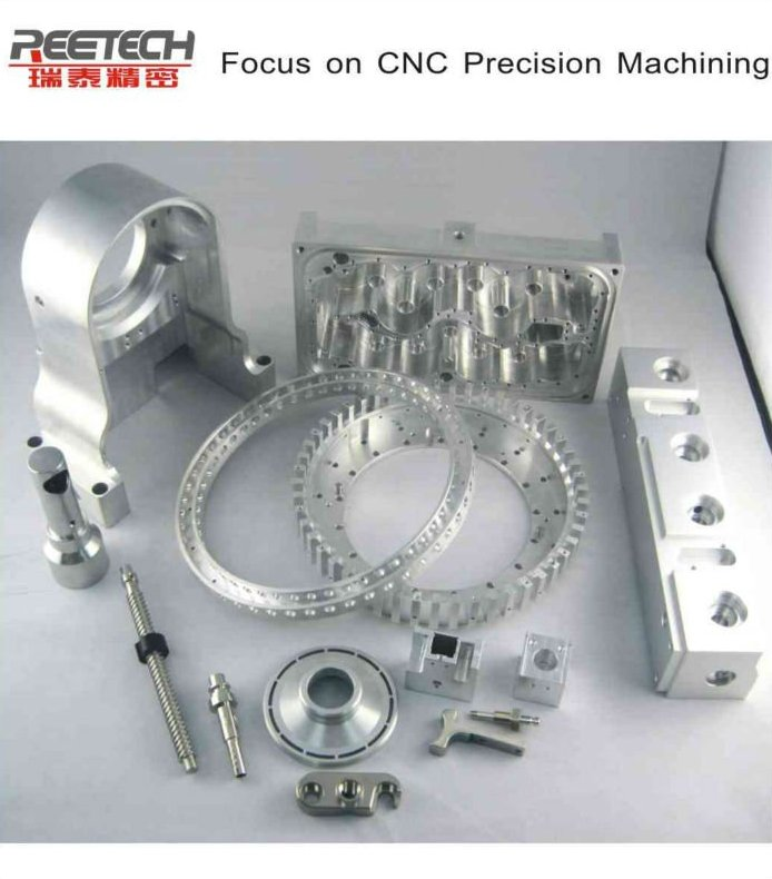 CNC machining parts aluminium parts brass parts with anodizing