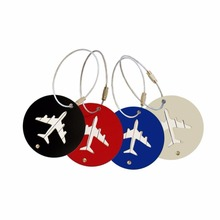 Promotional Hot Sale Attractive Pattern Reusable Luggage Tag