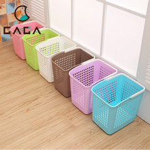 Chinese Best Supplier Thin Tall Color Hamper Basket Laundry For Household