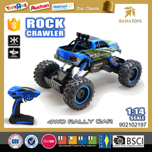 Newest rc car 1:14 2.4G race car games for kids